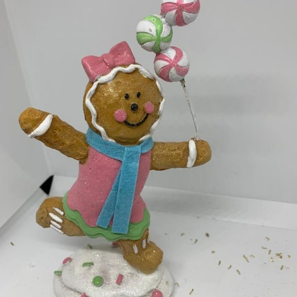 """7"""" Playing Gingerbread Figure"""